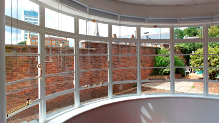Steel windows from ASWS shine in school conversion