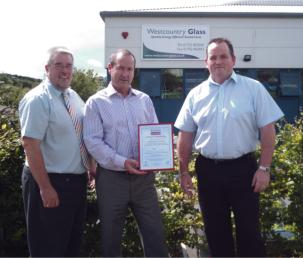 Westcountry Glass Enjoys Real Sales Support from the Super Spacer Dealership