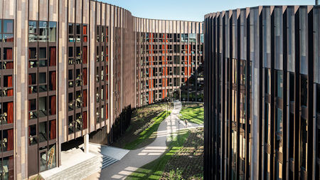 Student halls – but not as you know them: Edgetech excels on stunning Danish project