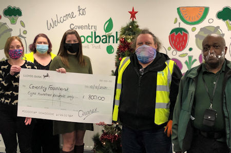 Edgetech continues to support worthy causes despite the challenges of 2020