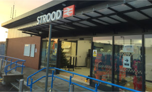 IDF Aluminium Choo, Choo, Chooses Jack Aluminium for Strood Station Revamp