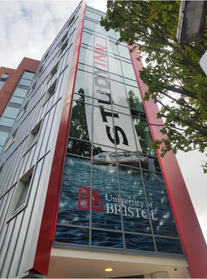 Luxury student apartments in Bristol receive eye-catching glass façade as part of £1.3m make-over