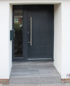 New traditional and contemporary composite doors range from Frame Fast