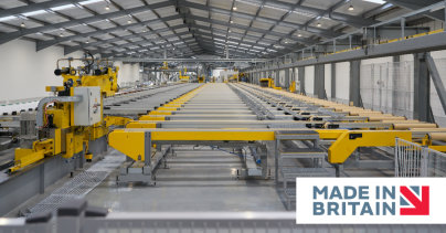 Garnalex flies the flag for British manufacturing with 'Made in Britain' accreditation
