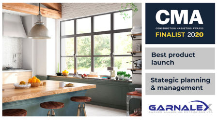 Garnalex is Construction Marketing Awards double finalist