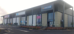 Exlabesa UK - Crown Doors & Shutters installs Exlabesa systems on Skelton Retail Park