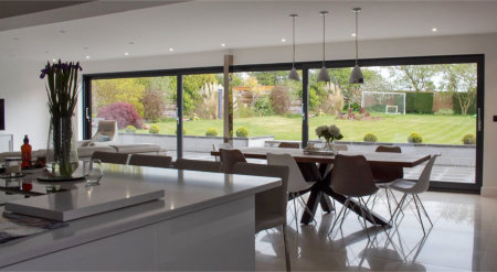 AC Aluminium project showcases excellence of Exlabesa's patio door system