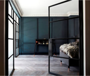 Steel Window Association - Steel screens for stylish interior spaces