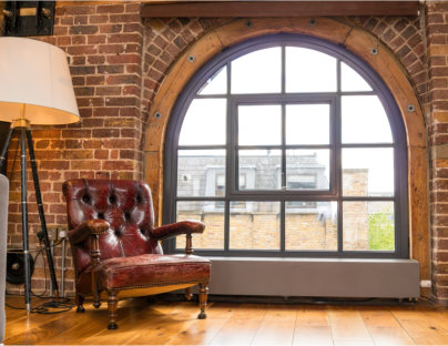 Steel windows and doorsets complete four-storey tannery conversion