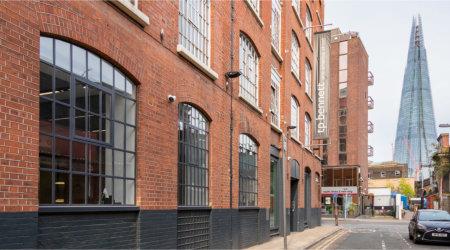 London design practice showcases steel window style