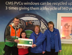CMS Window Systems supports Cumbernauld YMCA's vital after school Childcare Service