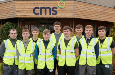 You re hired CMS Academy launches with first window and door apprentices