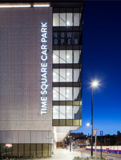 CMS provides complete glazing solution for eye-catching new Warrington car park