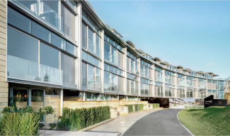 CMS delivers glazing on a grand scale for prestigious Edinburgh residences