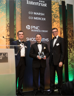 CMS scoops top business investors' award for management excellence