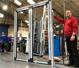 Aluminium experts CDW Systems strengthen range with new Reynaers CS 77 residential door