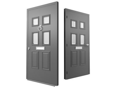 Stylish and secure aluminium 'Designer Doors' now available from CDW Systems