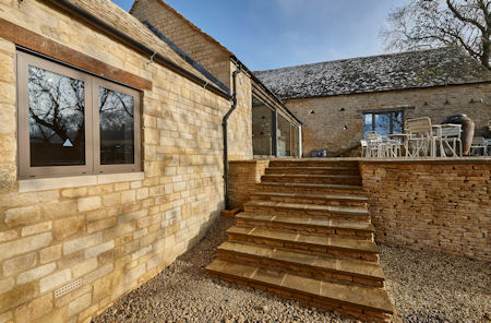 Cotswold windows helps transform derelict barn