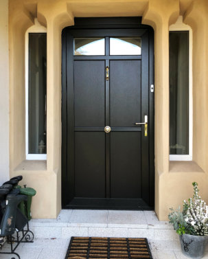 Now there's entrance doors for your residence too