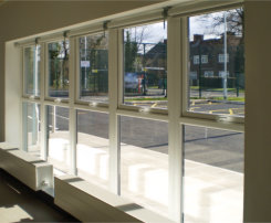 Excell Trade Frames installs windows at multi-million free school development