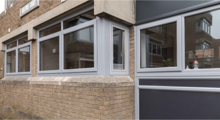 Property in Glasgow gets new look with REHAU windows