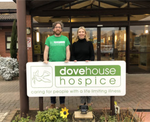 Humber Door raises £500 for Dove House Hospice