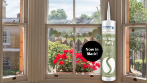 Hodgson's Heritage putty goes back to black