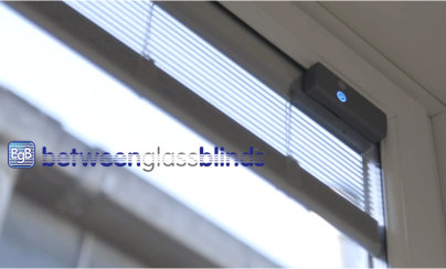 BGB motorised blinds offer complete control at the touch of a button