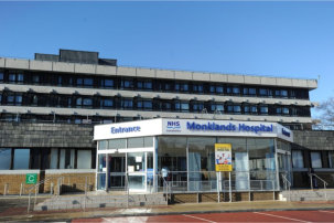 Case Study on £19m refurbishment of University Hospital Monklands in Airdrie