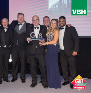 VBH crowned 'Component Supplier of the year' at G18 Awards