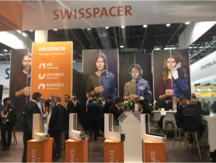 glasstec a resounding success for SWISSPACER