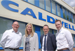 Window Ware appointed official UK distributor for Caldwell's Folding Openers