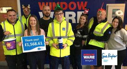 Bumper year of fundraising for Window Ware team in 2019