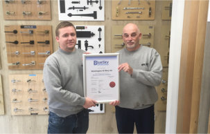 Washington & Riley Extends its Certification with Bluesky