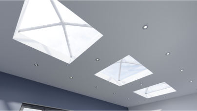 The thermal aluminium roof continues to evolve with the launch of Stratus 4 Way from Aperture
