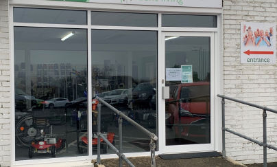 Fentrade delivers for specialists Haverfordwest showroom