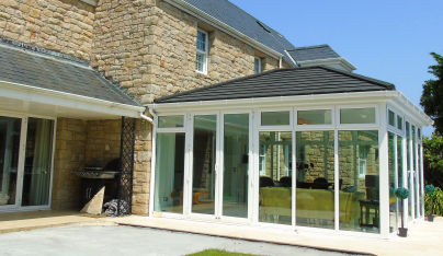 Tiled conservatory roofs providing perfect Renaissance thanks to SupaLite