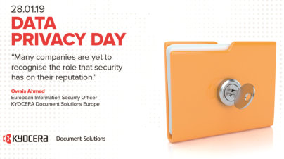 KYOCERA recognises importance of Data Privacy Day 2019