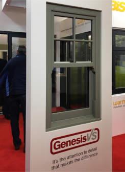 Bison Frames Successfully Showcases Genesis at Harrogate HBR Show