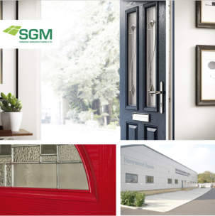 SGM Windows blaze a trail with Distinction Doors