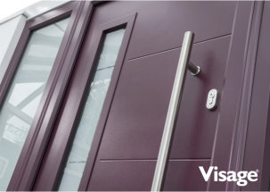 Beautiful new contemporary composite doors designs by Shepley
