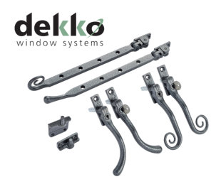 Dekko strengthens the appeal of its Infinity Flush Sash with Regal Hardware from Window Ware