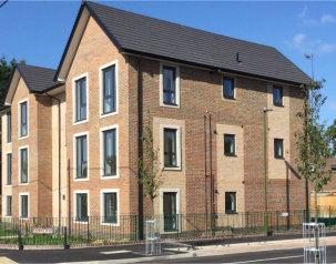 200 Spectus Flush Tilt & Turn Windows fitted in high profile social housing development