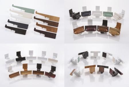 <br />Deceuninck's colour matched trims, end caps, cills and mullion end
