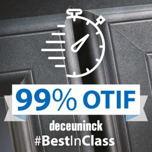 No delivery nightmares with Deceuninck