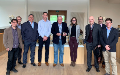 Editors see the technology behind the innovations at Deceuninck HQ