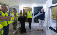 Belgian fabricators visit Deceuninck UK