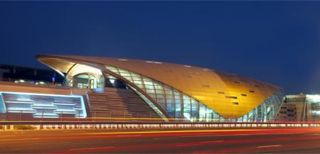 <br />Dubai Metro, over 300 square metres of curtain walling, fire rated to 60 minutes