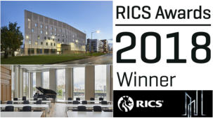 Birmingham Conservatoire named Project of the Year at RICS Awards