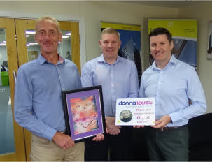 Bennetts hit £11,000 milestone for the Donna Louise